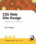 Book Cover: CSS Hands-On Training